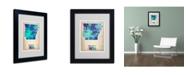 """Trademark Global Naxart 'Arkansas Watercolor Map' Matted Framed Art - 14"""" x 11"""" x 0.5"""""""