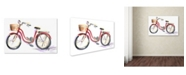 "Trademark Global Jennifer Lilya 'Go For A Ride' Canvas Art - 19"" x 14"" x 2"""