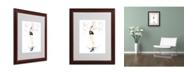 "Trademark Global Jennifer Lilya 'Cheeky Marilyn' Matted Framed Art - 16"" x 20"" x 0.5"""