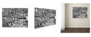 "Trademark Global Moises Levy 'San Gimignano Texture' Canvas Art - 32"" x 24"" x 2"""