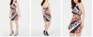 GUESS Floral-Print Bodycon Dress