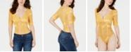 GUESS Denessa Lace Thong Bodysuit