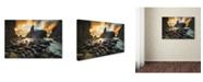 "Trademark Global Yan Zhang 'A Place Of Solitude' Canvas Art - 19"" x 12"" x 2"""