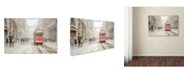 "Trademark Global Murat Bakmaz 'Beyoa Lu' Canvas Art - 19"" x 12"" x 2"""