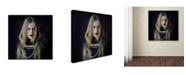 """Trademark Global Svetlana Melik Nubarova 'Necklace' Canvas Art - 24"""" x 24"""" x 2"""""""