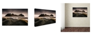 "Trademark Global David Martin Castan 'Stokksnes' Canvas Art - 24"" x 16"" x 2"""