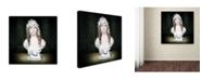 "Trademark Global Joan Blease 'Illumination' Canvas Art - 18"" x 18"" x 2"""