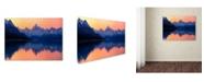 """Trademark Global Daniel Murphy 'Mount Cook New Zealand' Canvas Art - 19"""" x 14"""" x 2"""""""