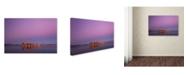 "Trademark Global Jaroslav Zakravsky 'Silence' Canvas Art - 47"" x 30"" x 2"""
