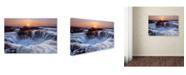 "Trademark Global Miles Morgan 'Thors Well' Canvas Art - 24"" x 16"" x 2"""