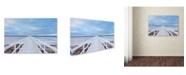 """Trademark Global Jacek Oleksinski 'The Bridge' Canvas Art - 32"""" x 22"""" x 2"""""""