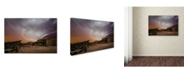 "Trademark Global Inigo Cia 'The Hut' Canvas Art - 24"" x 16"" x 2"""