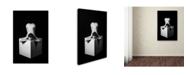 "Trademark Global Ruslan Bolgov 'Heart Of A Cube' Canvas Art - 19"" x 12"" x 2"""