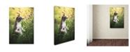"Trademark Global Dejana MS 'Whispering' Canvas Art - 47"" x 30"" x 2"""