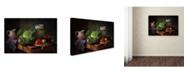 "Trademark Global Tatbrha Ckopoxoa 'Di Do' Canvas Art - 24"" x 16"" x 2"""