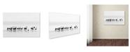 "Trademark Global Joan Gil Raga 'Flamingos' Canvas Art - 47"" x 30"" x 2"""