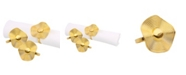 Classic Touch Set of 6 Gold Napkin Rings