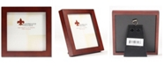 """Lawrence Frames Walnut Wood Picture Frame - Gallery Collection - 4"""" x 4"""""""
