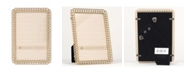 """Lawrence Frames Gold Metal Picture Frame - Eternity Rings - 4"""" x 6"""""""