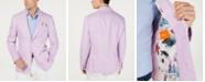 Tallia Men's Slim-Fit Pink/Blue Stripe Sport Coat