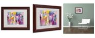 """Trademark Global Richard Wallich 'Wild' Matted Framed Art - 11"""" x 14"""" x 0.5"""""""