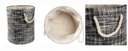 Design Import Paper Bin Tweed, Round