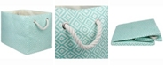 Design Imports Paper Bin Geo Diamond, Rectangle