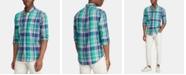 Polo Ralph Lauren Men's Custom Fit Plaid Shirt