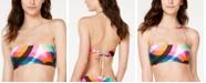 Trina Turk Kaleidoscope Printed Bandeau Bikini Top