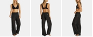 Billabong Juniors' Cotton Striped Wide Leg Pants
