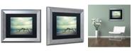 "Trademark Global PIPA Fine Art 'The Cove' Matted Framed Art - 11"" x 14"""
