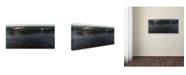 "Trademark Global Kurt Shaffer 'Incoming' Canvas Art - 10"" x 19"""
