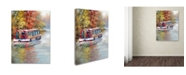"Trademark Global The Macneil Studio 'River Boat' Canvas Art - 14"" x 19"""