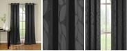 """Duck River Textile Zayden 38"""" x 96"""" Leaf Print Blackout Curtain Set"""