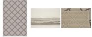 "Bridgeport Home Pashio Pas5 Gray 3' 3"" x 5' Area Rug"
