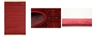 Bridgeport Home Vivaan Viv1 Red 4' x 6' Area Rug