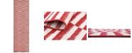 """Bridgeport Home Axbridge Axb2 Red 2' 9"""" x 9' 10"""" Runner Area Rug"""