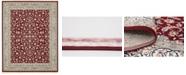 Bridgeport Home Zara Zar1 Burgundy 8' x 10' Area Rug