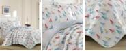 Laura Ashley Ahoy Bright Blue Quilt Set, Twin
