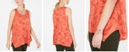 Style & Co Petite Printed Tank Top, Created for Macy's