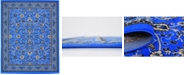 Bridgeport Home Arnav Arn1 Blue 8' x 10' Area Rug