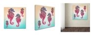 "Trademark Global Mark Ashkenazi '2' Canvas Art - 18"" x 18"""