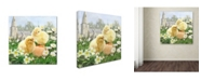 "Trademark Global The Macneil Studio 'Easter Chicks' Canvas Art - 18"" x 18"""