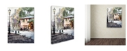 "Trademark Global The Macneil Studio 'Sunshine Cafe' Canvas Art - 18"" x 24"""