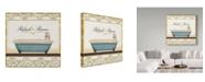 "Trademark Global Lisa Audit 'Spa and Resort IV' Canvas Art - 18"" x 18"""
