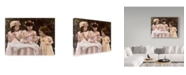 """Trademark Global Sharon Forbes 'Little Women' Canvas Art - 18"""" x 24"""""""