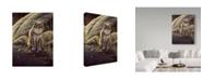 "Trademark Global Wilhelm Goebel 'Backlight Bobcat' Canvas Art - 18"" x 24"""