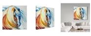 "Trademark Global Marcia Baldwin 'Gypsy Vanner Dream' Canvas Art - 24"" x 24"""