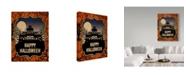 "Trademark Global J Hovenstine Studios 'Haunted House' Canvas Art - 18"" x 24"""