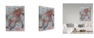 "Trademark Global Hooshang Khorasani 'Happy Hooves' Canvas Art - 18"" x 24"""